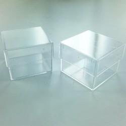 Lot de 10 boîtes en plastique