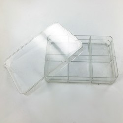 Plastic with 6 cases