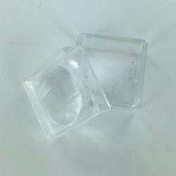 Small plastic magnifer box