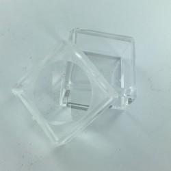 Large plastic magnifer box