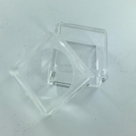 Grande boîte loupe en plastique