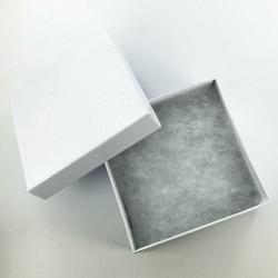Boîte carton blanche
