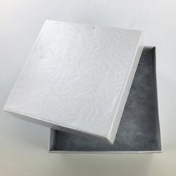 Boîte carton carrée blanche