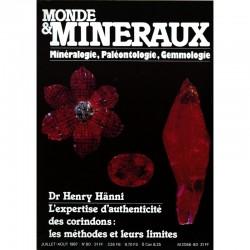 Monde et Minéraux N°80