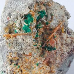 Dioptase, Wulfenite and Cerusite