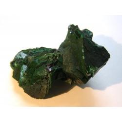 Malachite and cuprite
