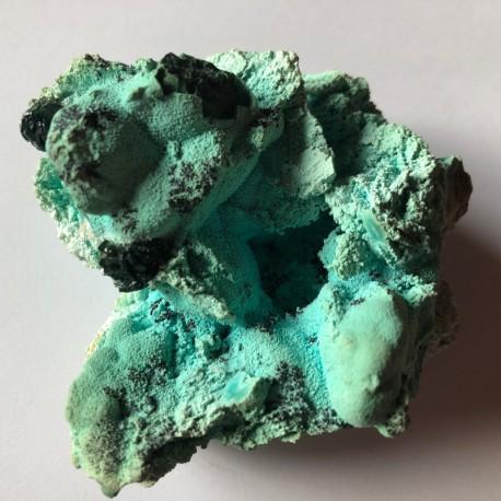 Malachite sur Chrysocolle