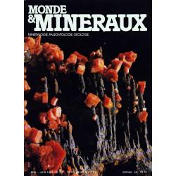 Monde & Minéraux N° : 54