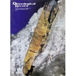 Mineralogical Record, Nov-Dec 1990
