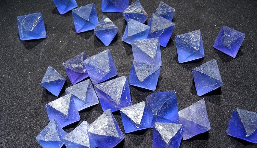 De nouveaux minéraux chaque mois !