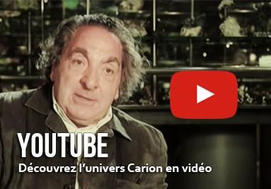 Découvrez l'univers Carion sur YouTube